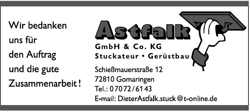 Astfalk GmbH & Co. KG Stuckateur - Gerüstbau