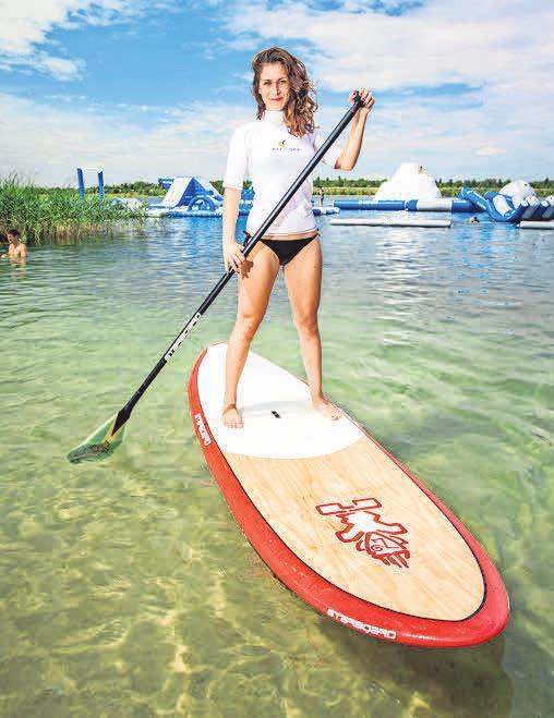 Stand-up-Paddling ist eine Kombination aus Wellenreiten, Kanusport und Ganzkörperworkout.