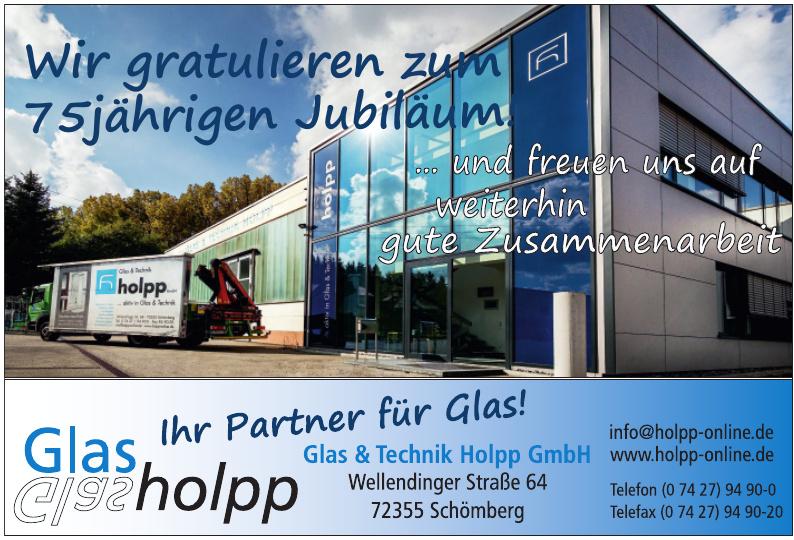Glas & Technik Holpp GmbH