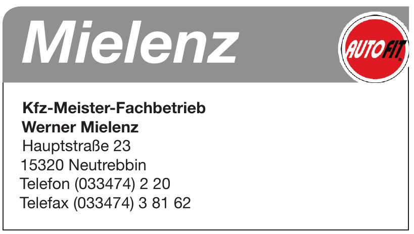 Kfz-Meister-Fachbetrieb Werner Mielenz