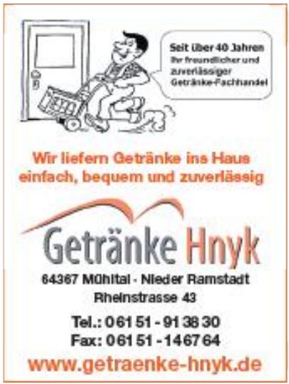 Getränke Hnyk