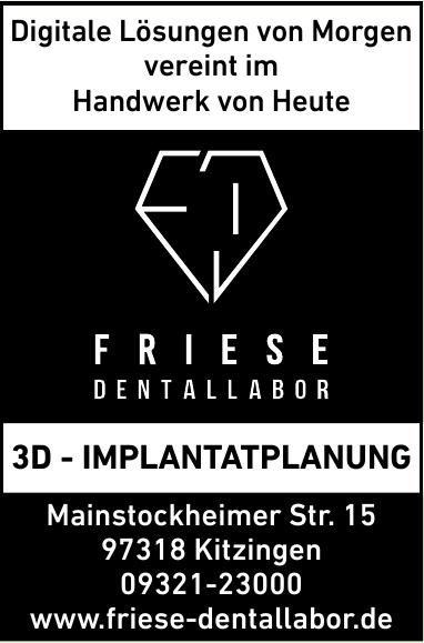 Friese Dentallabor