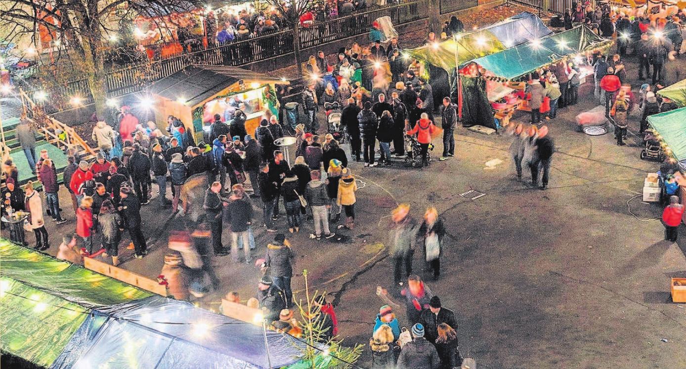 Der Gefreeser Weihnachtsmarkt wurde in den letzten Jahren zu einem der stimmungsvollsten Weihnachtsmärkte in der Region. Foto: jw