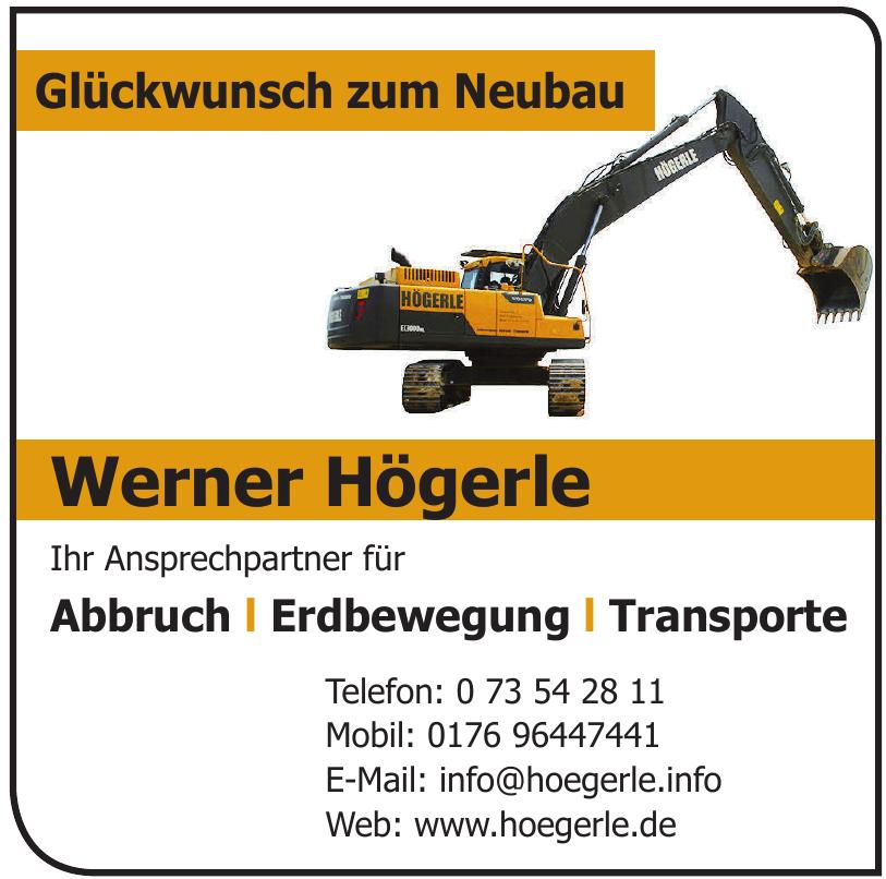 Werner Högerle