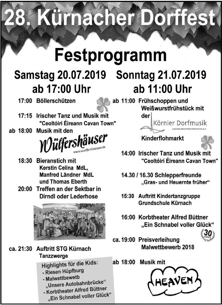 28. Kürnacher Dorffest