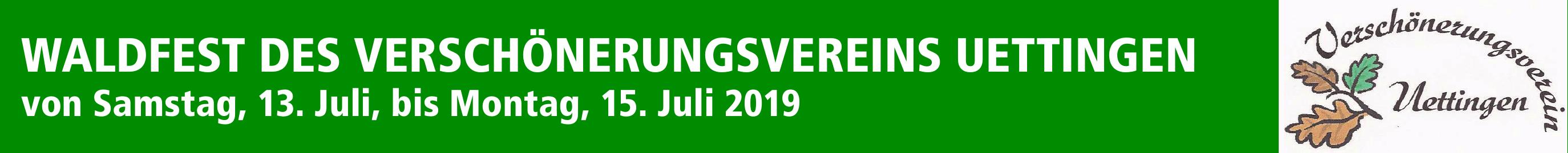 Waldfest des Verschönerungsvereins Uettingen Image 1