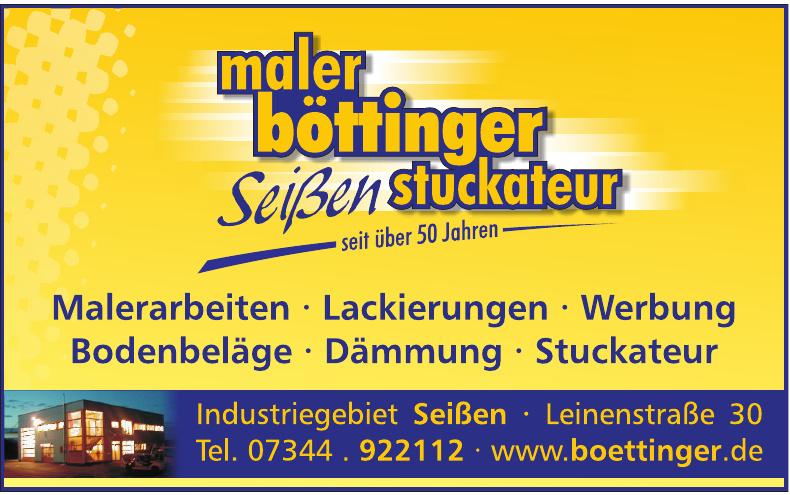 Böttinger Maler & Werbung GmbH & Co. KG