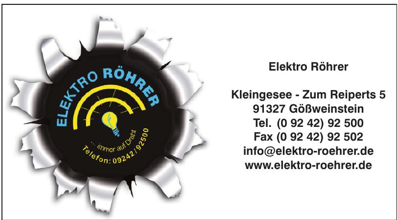 Elektro Röhrer