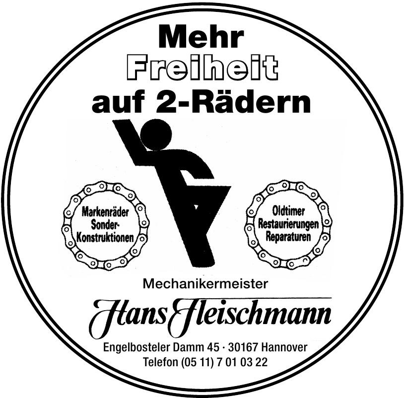 Mechanikermeister Hans Fleischmann