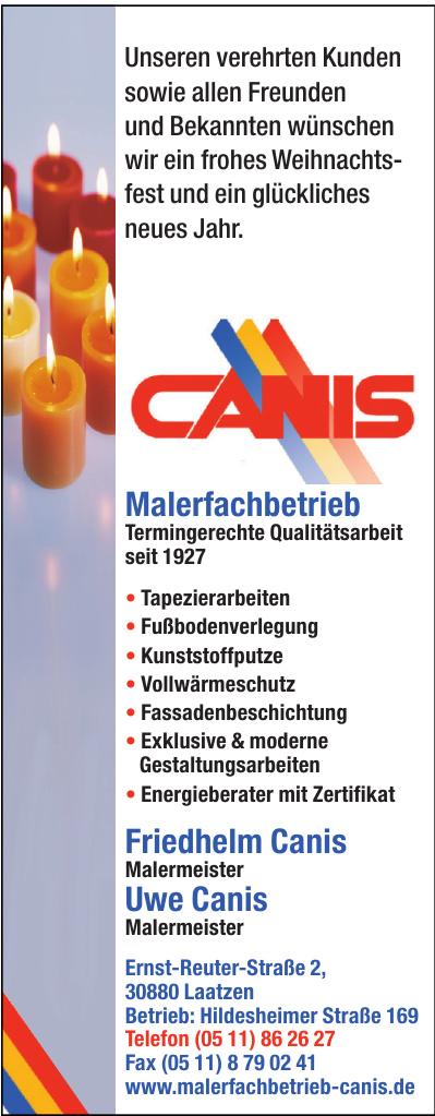 Friedhelm Canis GmbH Malermeister