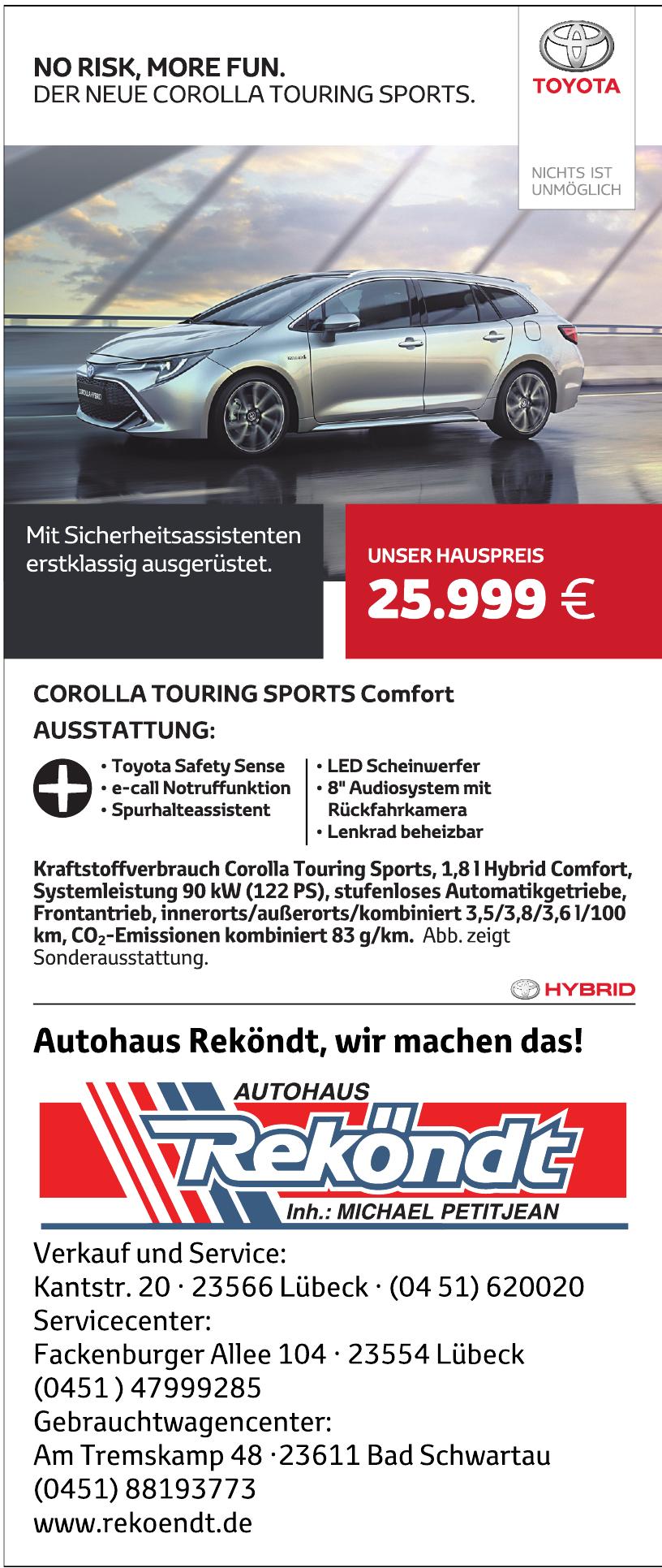 Autohaus Reköndt Inh. Michael Petitjean E. K.