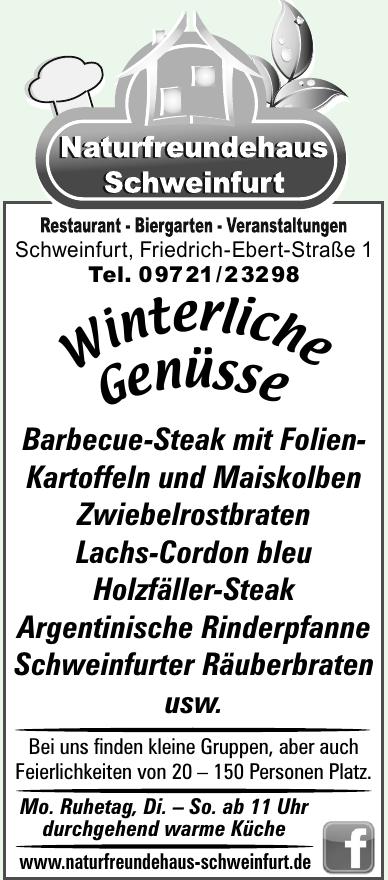Naturfreundehaus Schweinfurt