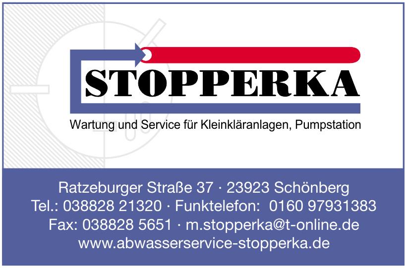 Stopperka Wartung und Service für Kleinkläranlagen, Pumpstation