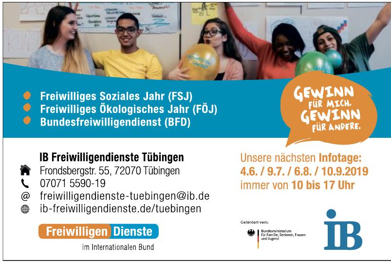 IB Freiwilligendienste Tübingen