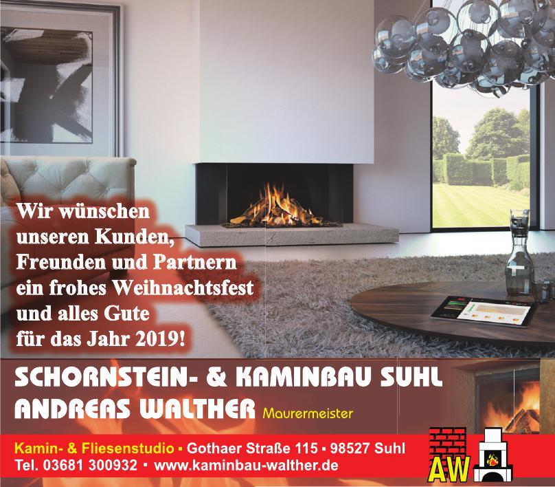 Schornstein- & Kaminbau Suhl Andreas Walther