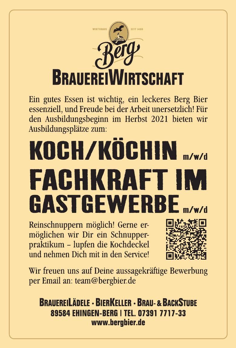 Berg Brauerei Ulrich Zimmermann