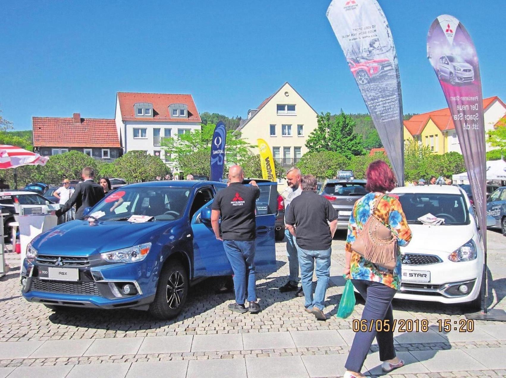 Zur Autoschau gibt es Neu- und Vorführwagen 13 verschiedener Marken zu sehen.