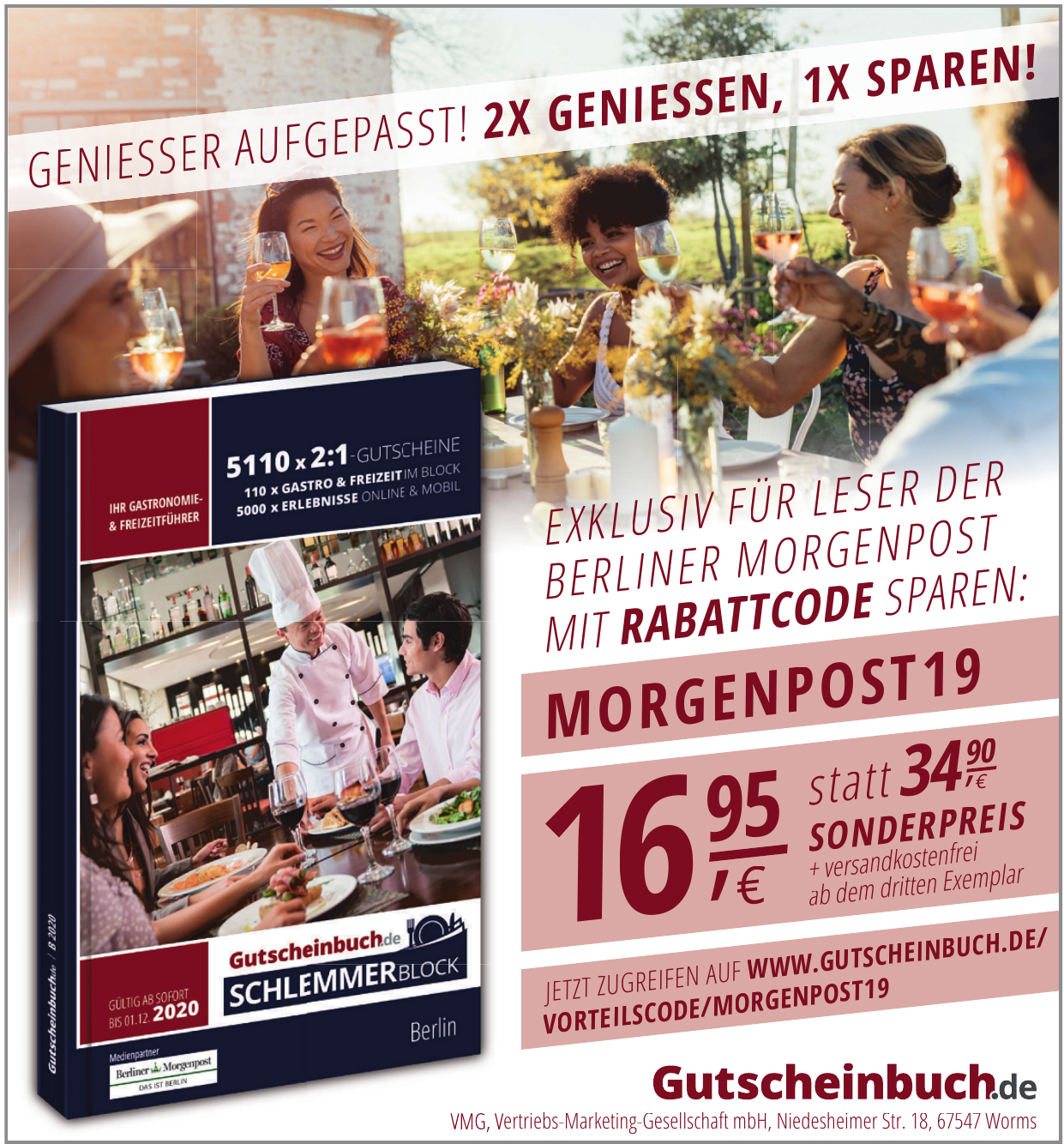 VMG, Vetriebs-Marketing-Geselschaft mbH
