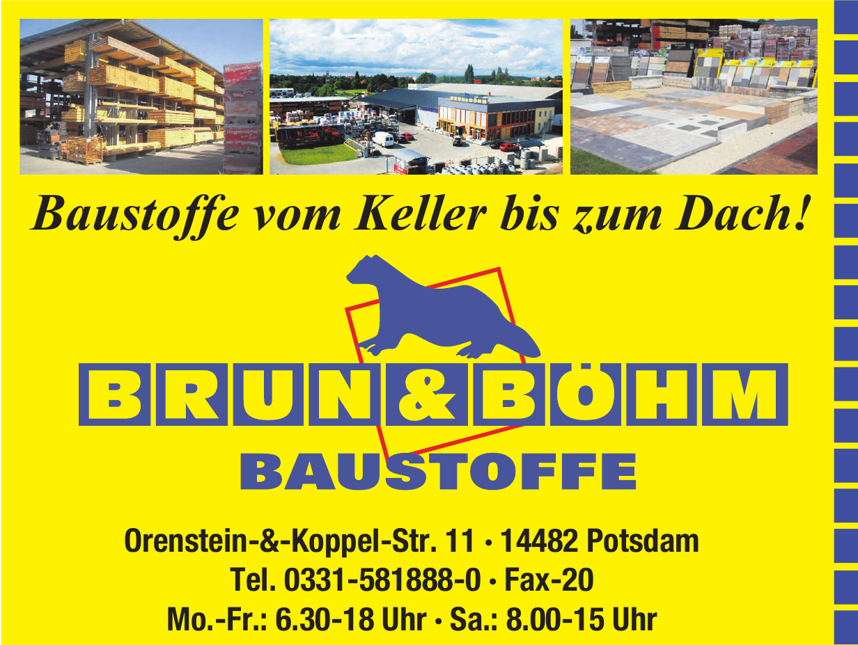 Brunn & Böhm Baustoffe