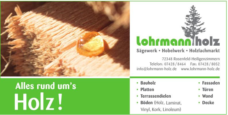 Lohrmann Holz