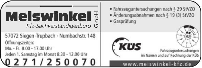 Kfz-Sachverständigenbüro Meiswinkel GmbH