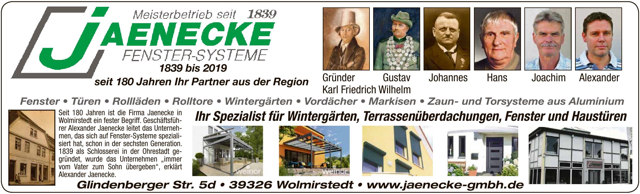 Jaenecke Fenster Systeme GmbH