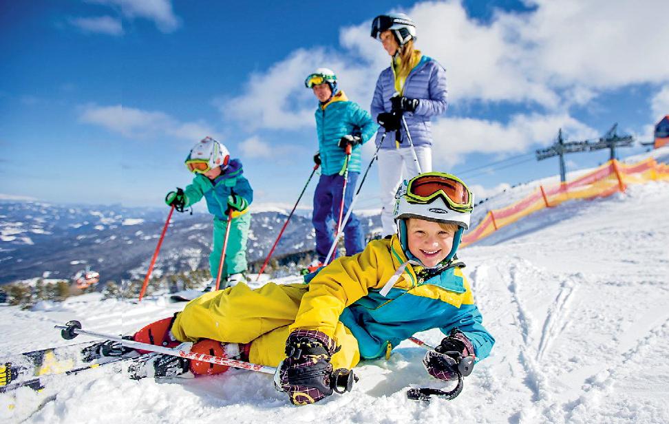 Am Kreischberg in der Steiermark gibt es viele Angebote für Familien. Foto: TVB-Region Murau/Ikarus.cc