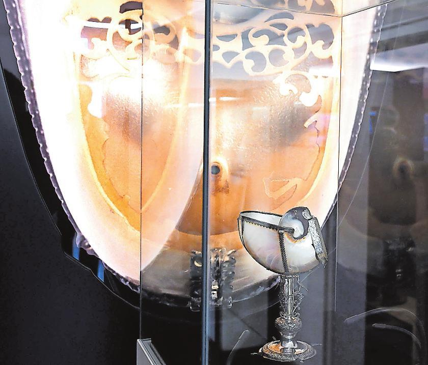 Im stadtmuseum zu sehen: der Nautiluspokal. FOTO: FRANCK