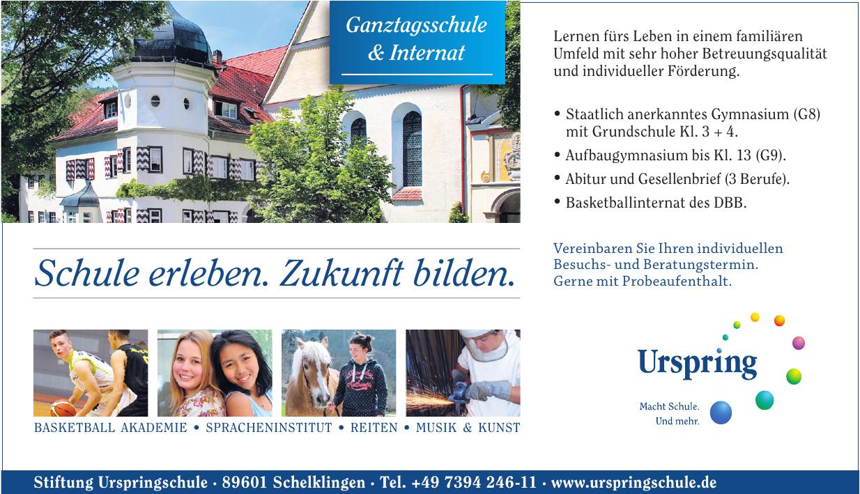 Stiftung Urspringschule