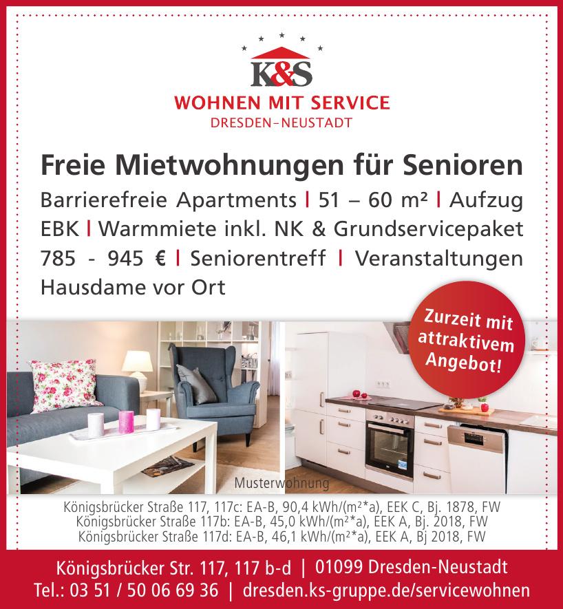 K&S Wohnen mit Service Dresden-Neustadt