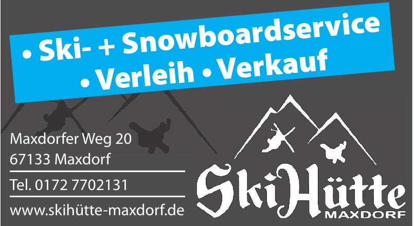 Ski Hütte Maxdorf