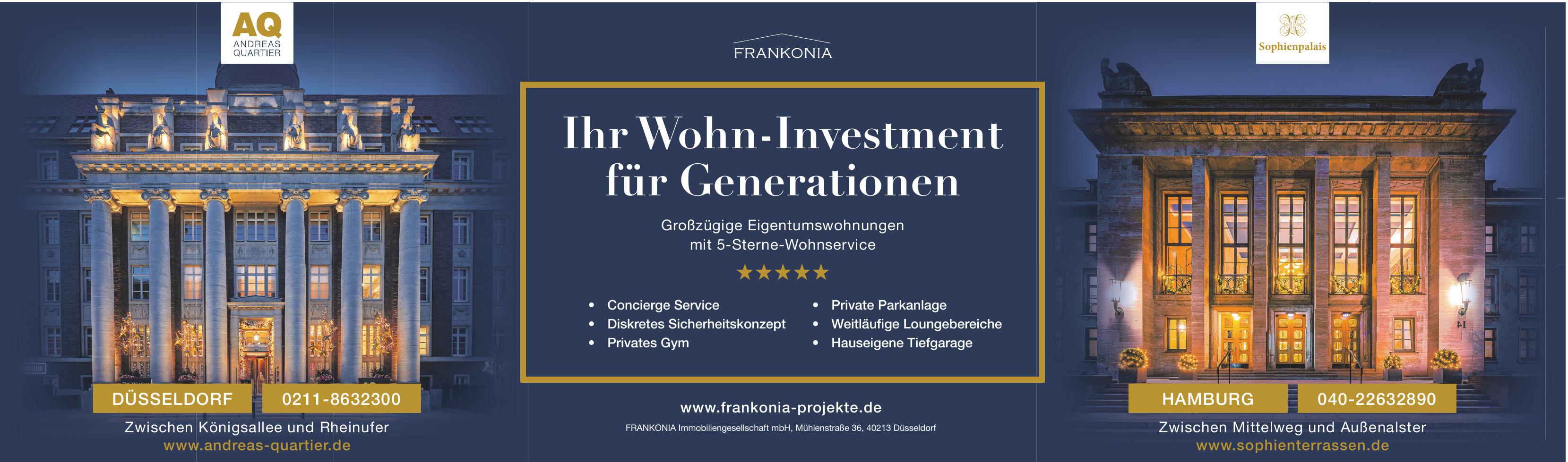 FRANKONIA Immobiliengesellschaft mbH