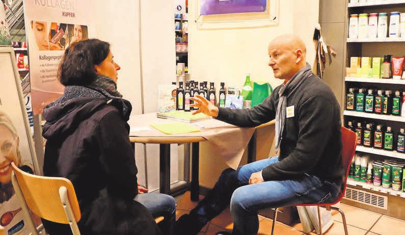 Der Heilpraktiker und ganzheitliche Krebsberater Dieter Bretz berät zweimal jährlich im Naturahaus.