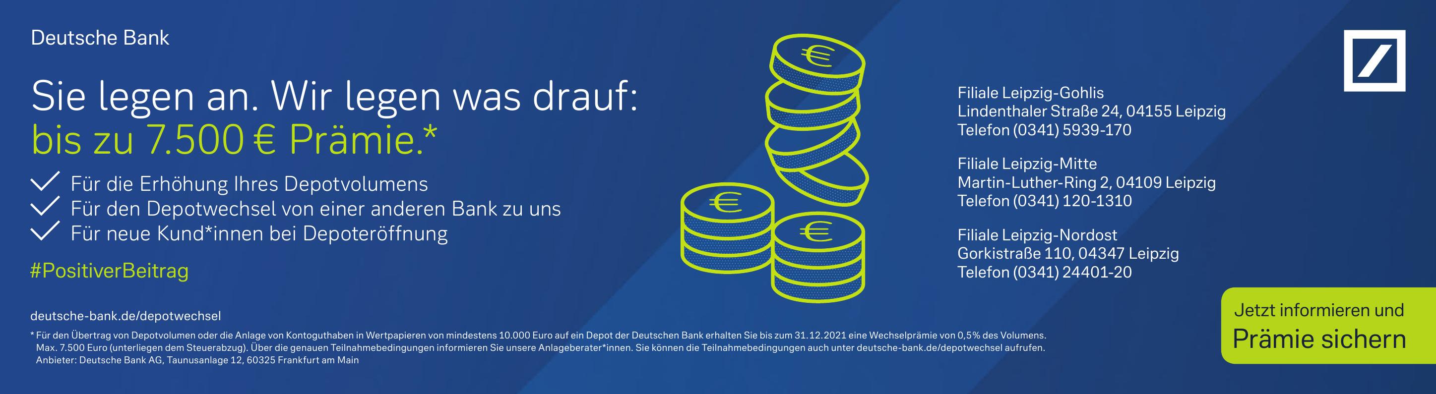Deutsche Bank - Filiale Leipzig-Gohlis