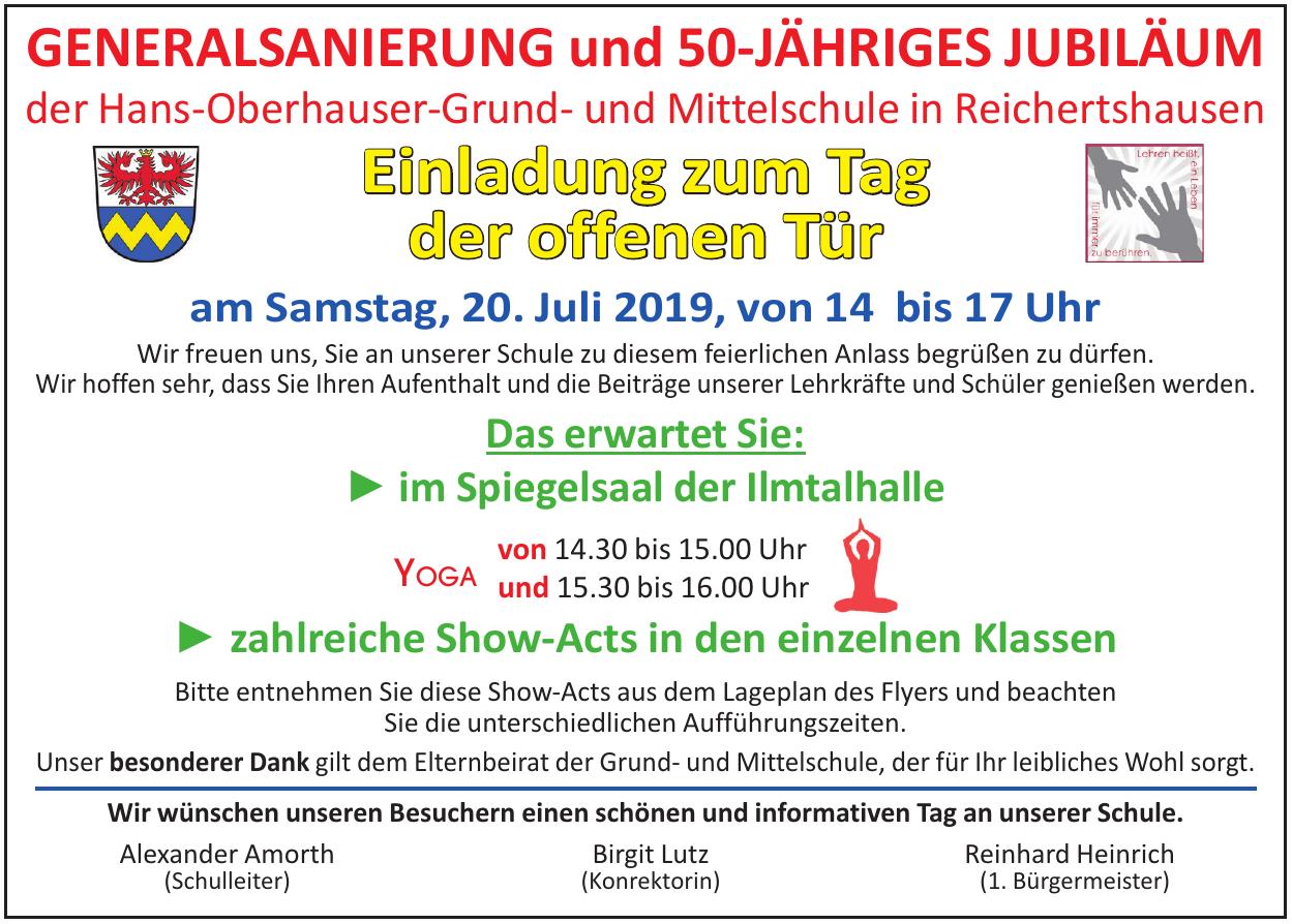 Hans-Oberhauser-Grund- undMittelschule in Reichertshausen