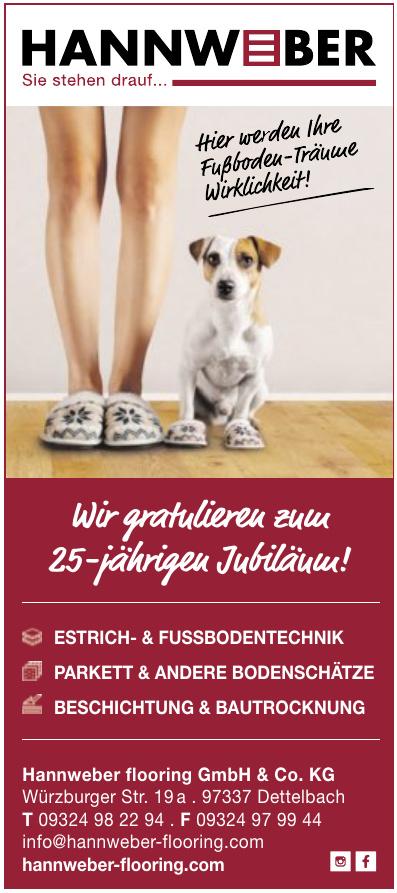 Hannweber flooring GmbH & Co. KG