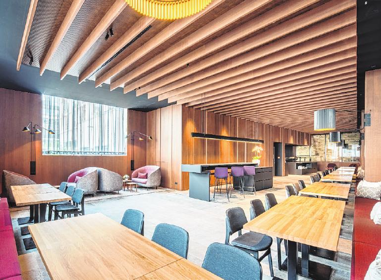 Das Refektorium rundet das Bild der Hotelerweiterung im Tagungs- und Empfangsbereich ab.