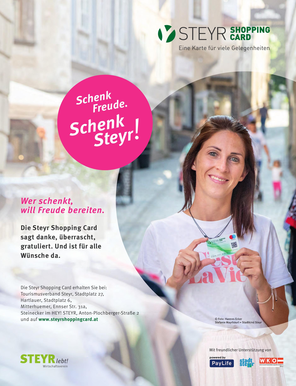 Steyr Shopping Card