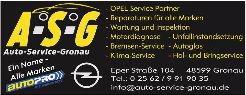 A-S-G Auto-Service-Gronau