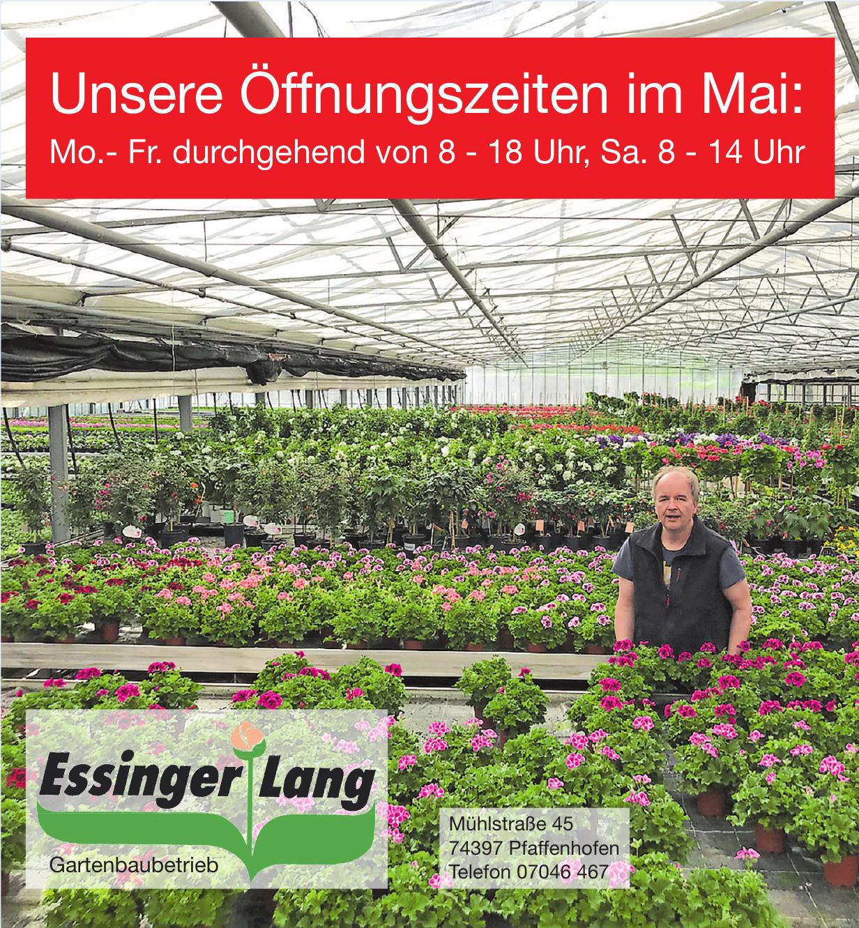 Essinger Lang Gartenbaubetrieb