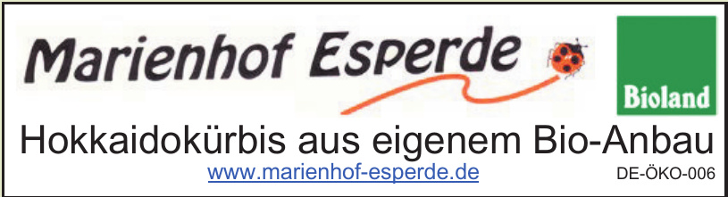 Marienhof Esperde