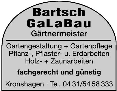 Bartsch GaLaBau