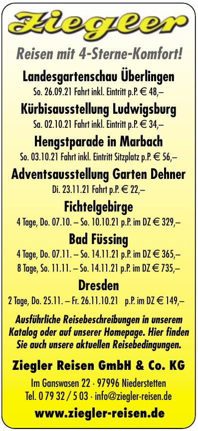 Ziegler Reisen GmbH & Co. KG