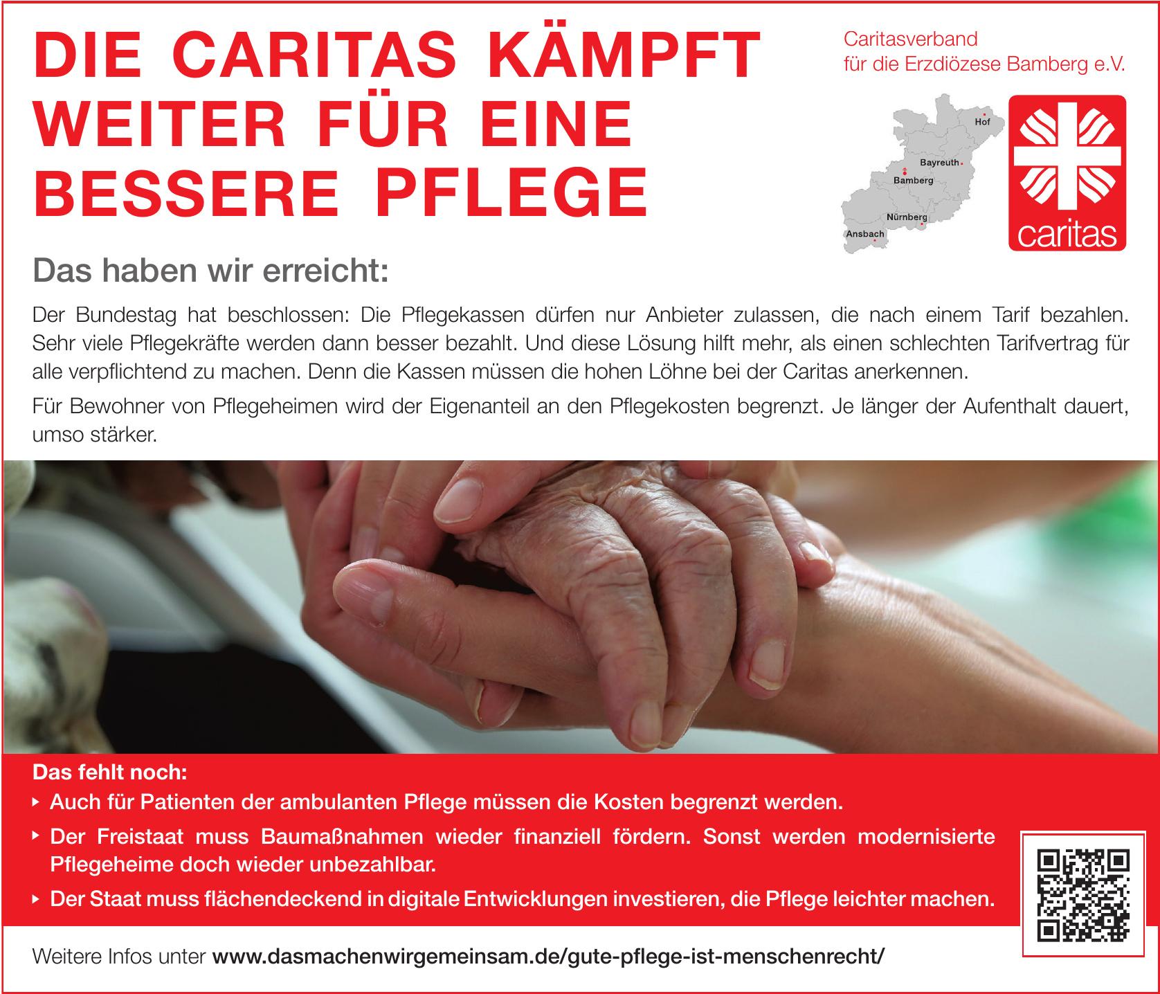 Caritasverband für die Erzdiözese Bamberg e.V