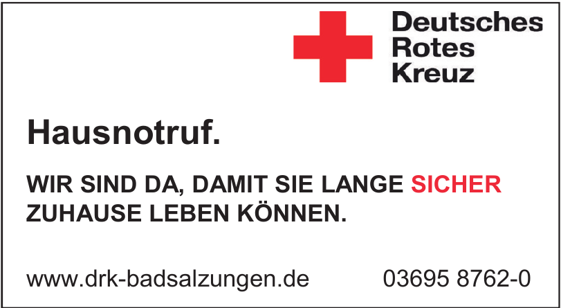 DRK Kreisverband Bad Salzungen e.V.