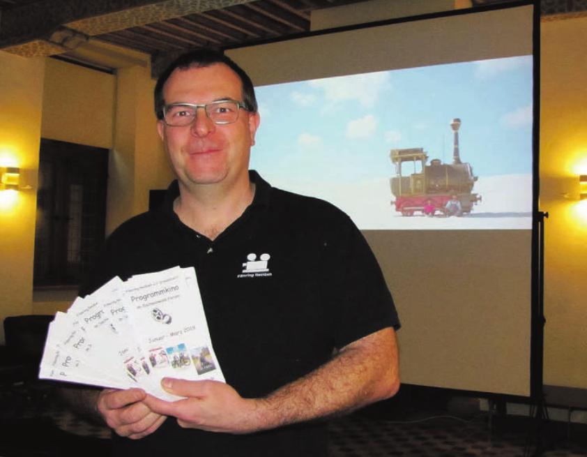 Thomas Hoeck und sein Team sorgen mit dem Programmkino auch im kommenden Jahr für tolle Kinoerlebnisse in Reinbek Foto: str