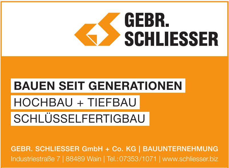 Gebr. Schliesser GmbH + Co. KG