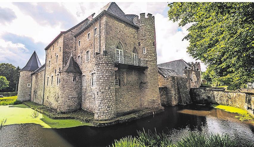 Burg Raeren ist eine von zwei Burgen entlang der acht Ovelo-Routen. Foto: ostbelgien.eu/Dominik Ketz