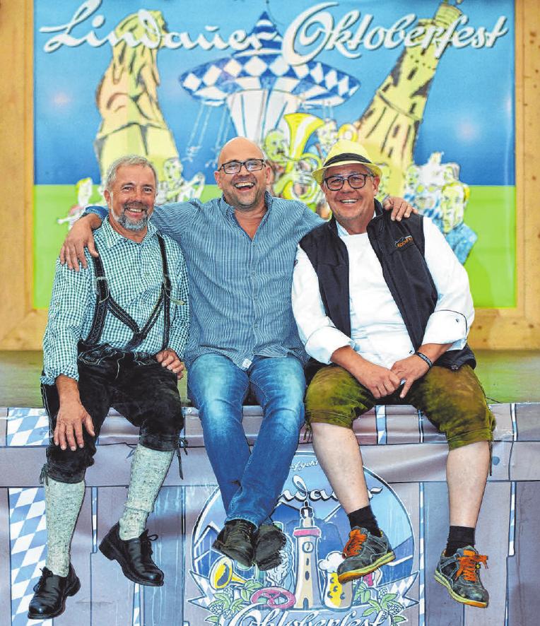 Karl Meßmer, Thomas Kottmayr, Ralf Hörger FOTO: DOS