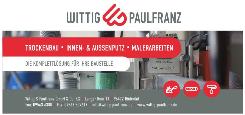 Wittig & Paulfranz GmbH & Co. KG